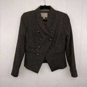 Banana Republic Double Breasted Blazer Wool 2